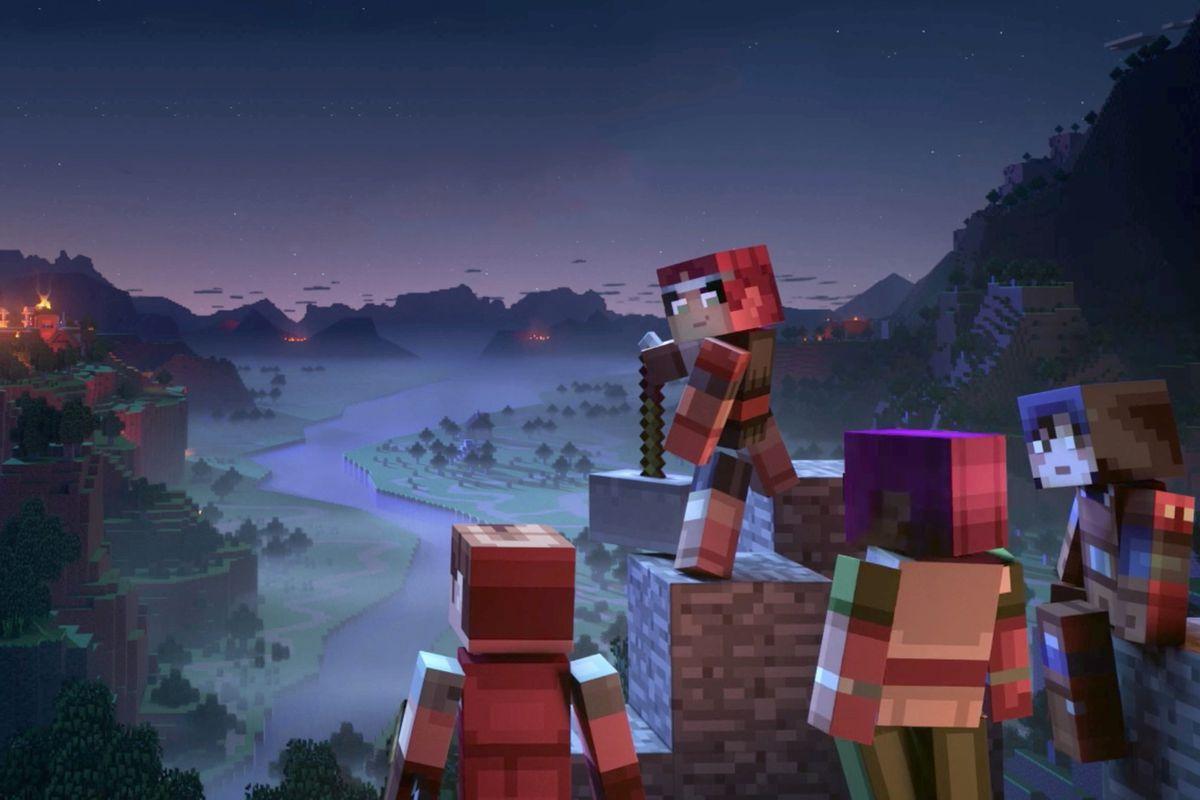 Minecraft Dungeons artwork