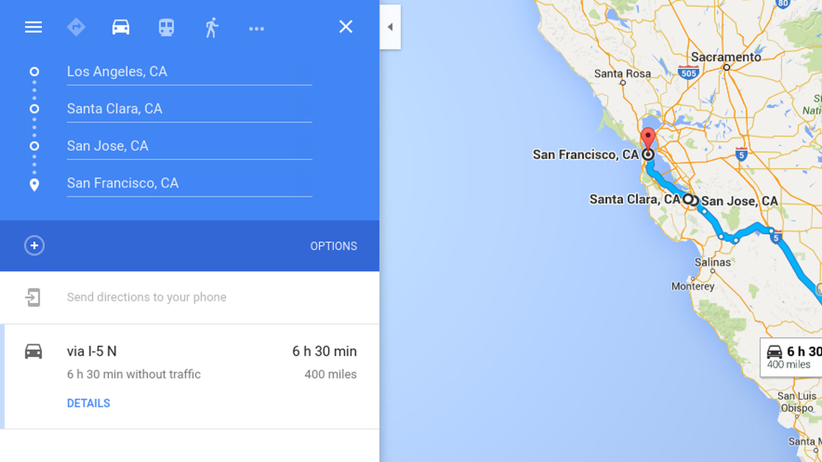 Google Maps for iOS now supports multiple destinations - The