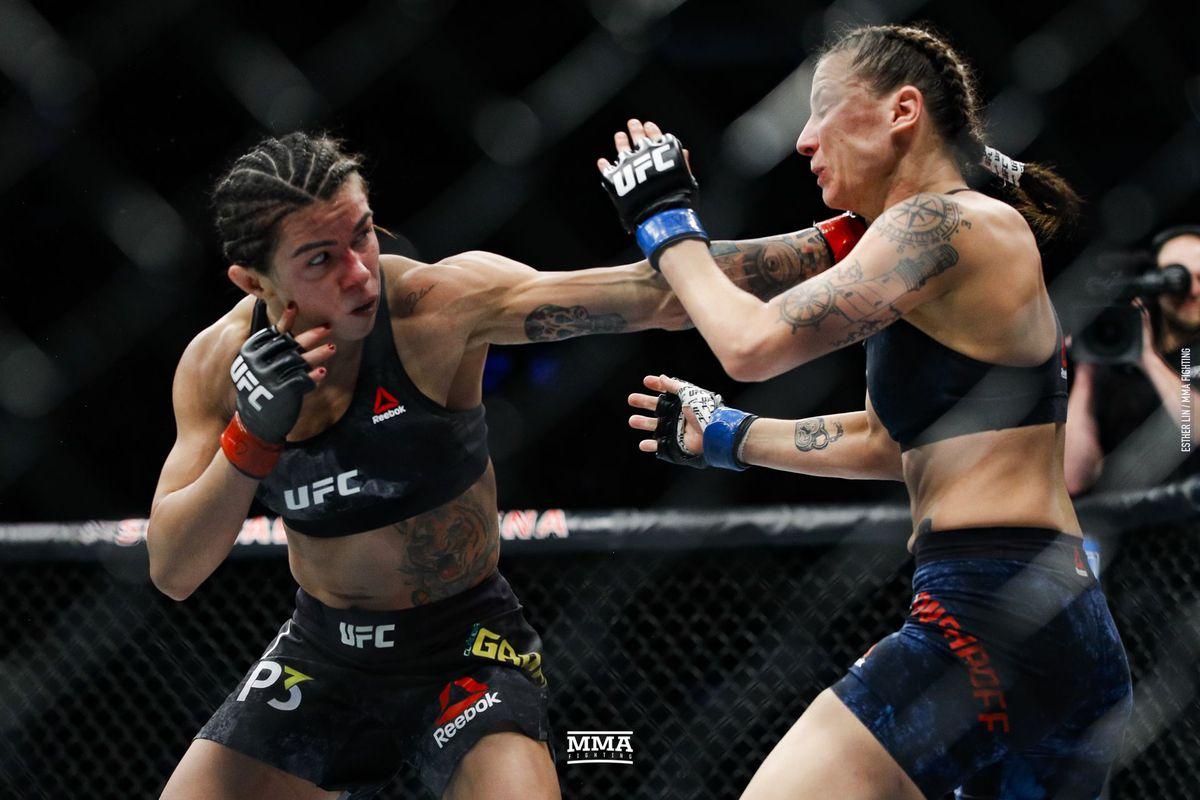 Claudia Gadelha Vs Randa Markos Added To Ufc 239 Mma Fighting