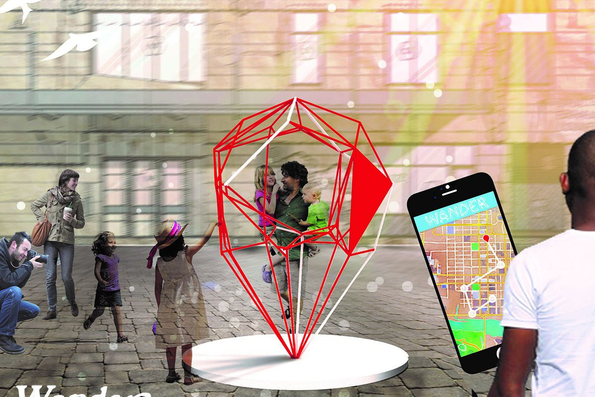 Free App Wander Offers Interactive Adventure In Downtown