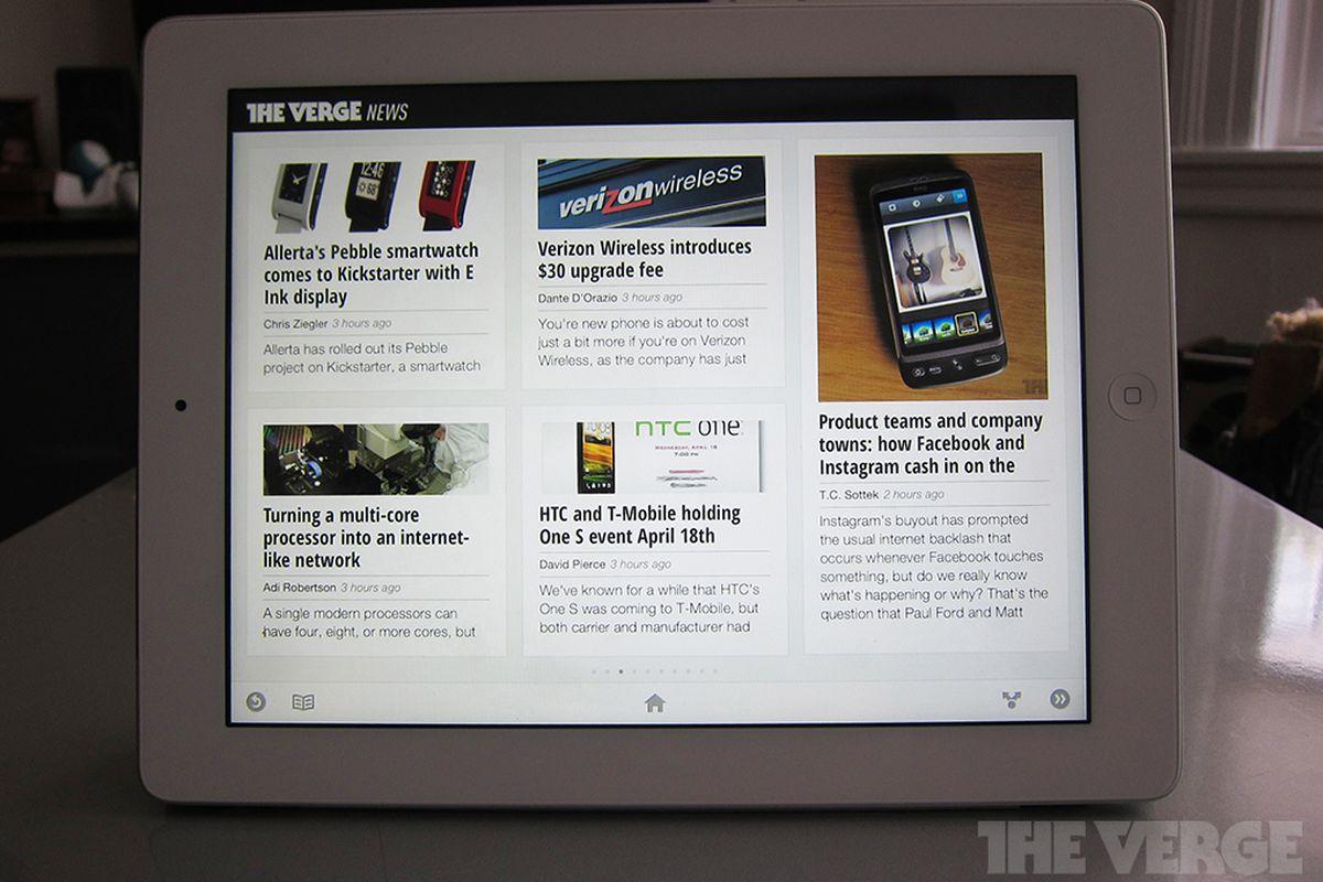 Verge Currents iPad