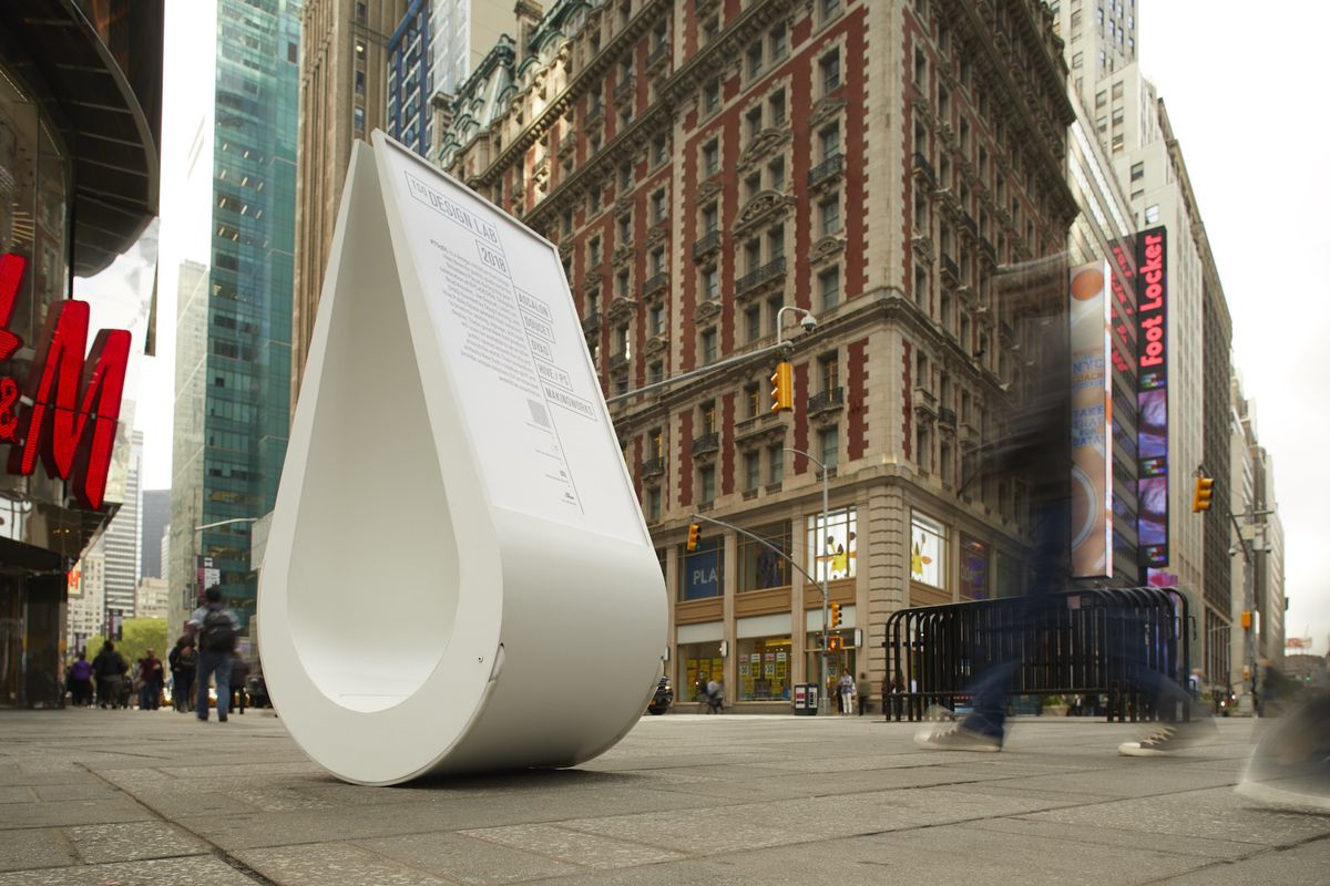 Times Square Design Lab Debuts With 5 Pieces Of Quirky