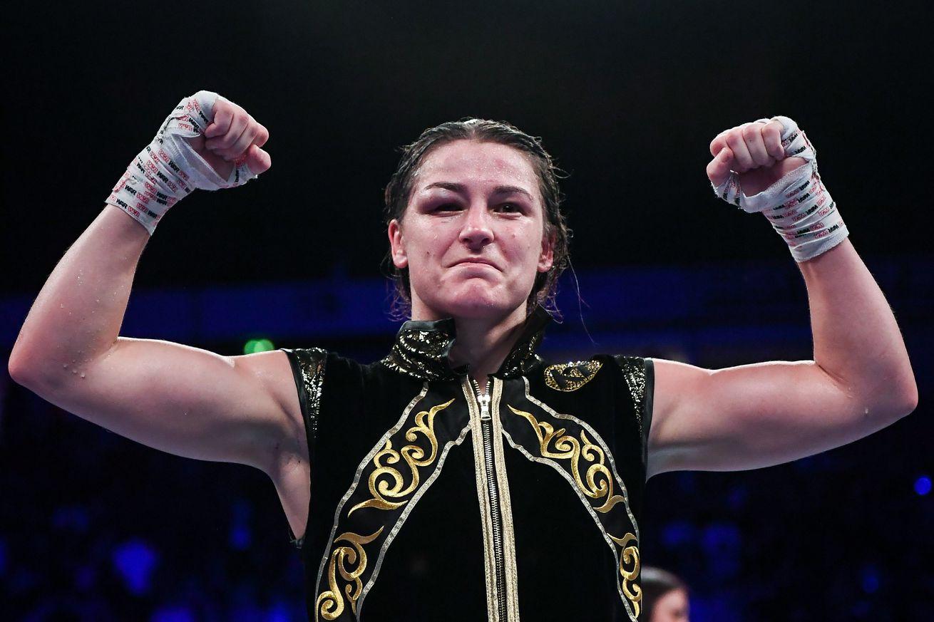 Katie Taylor v Christina Linardatou - WBO World Super-Lightweight Championship Title Fight