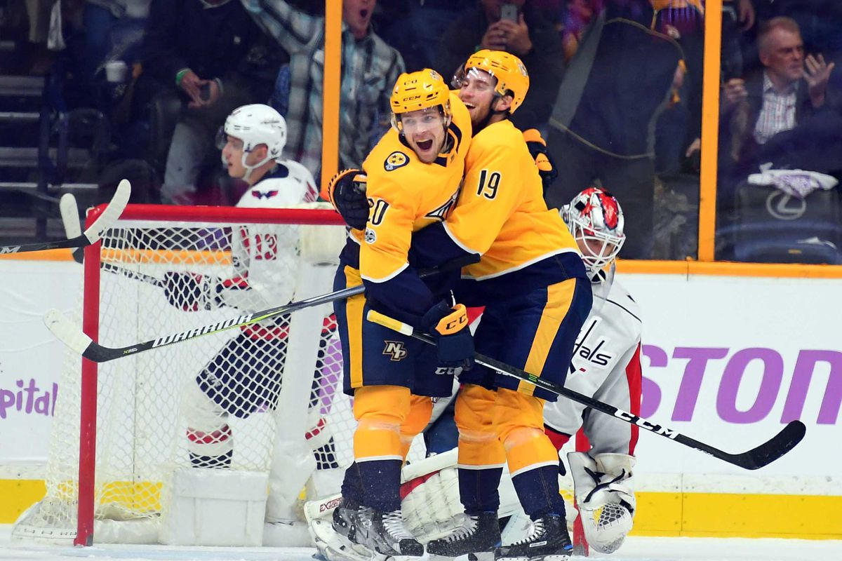 Nashville Predators 6 Washington Capitals 3 Goal Explosion On The Forecheck
