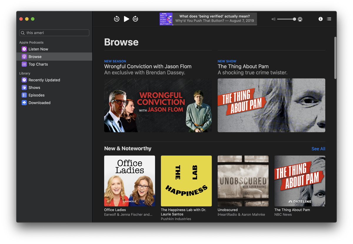 macOS Catalina review: iTunes is now Music, Apple TV, and