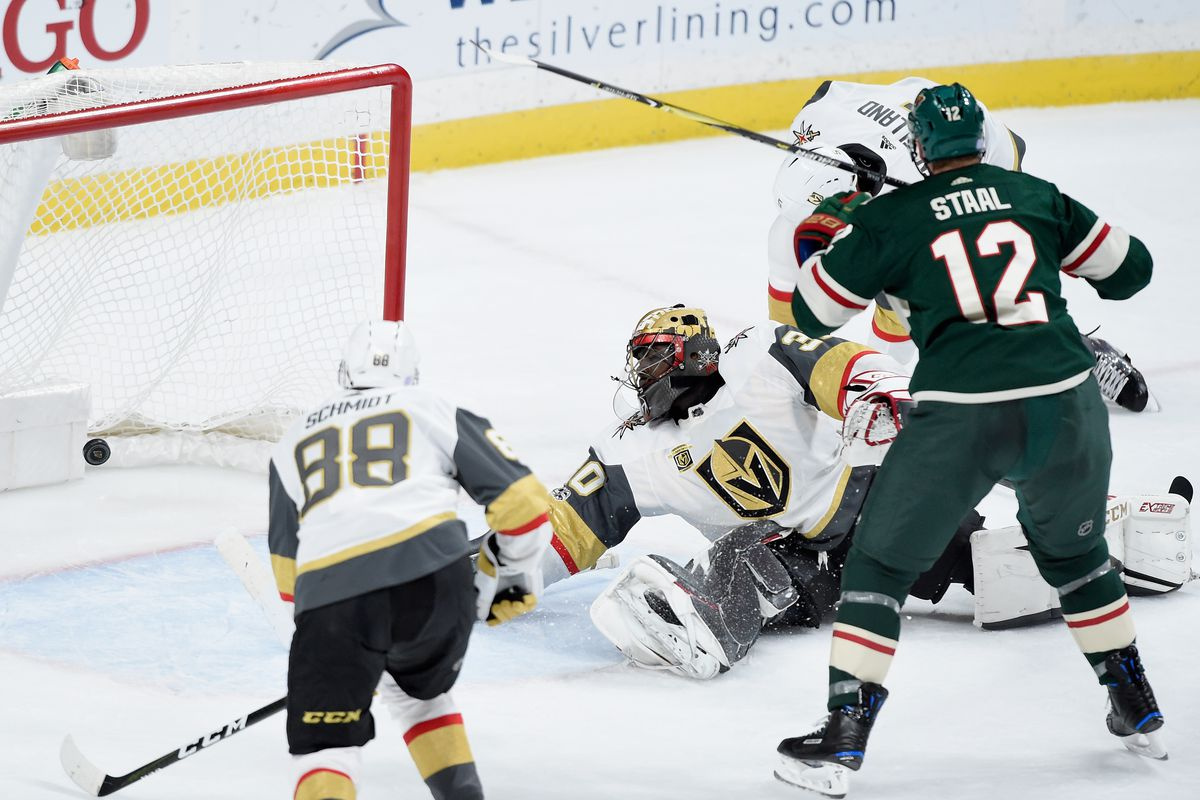 On home ice for the first time, the Wild look to bounce back