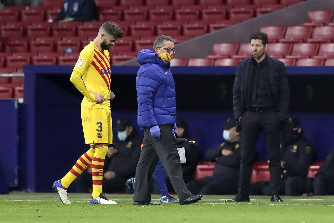 Puyol sends message to Pique after knee injury