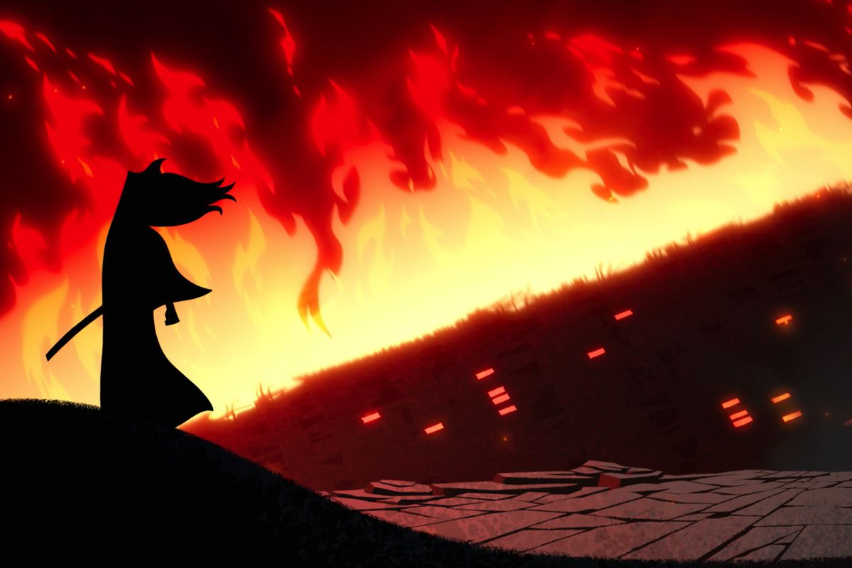 Samurai Jack gets left behind for Rick and Morty, and no