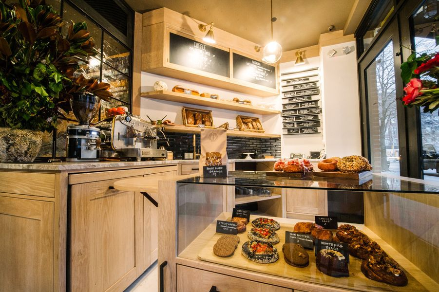 [The bakery at High Street] Photo by Krieger