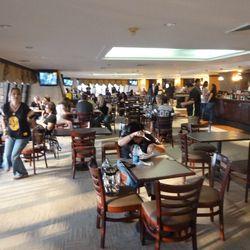 The new plaza club area.