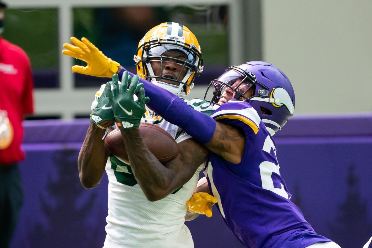 Green Bay Packers 43 Minnesota Vikings 34 Defense Doesn T Bother Showing Up In Season Opening Loss Daily Norseman