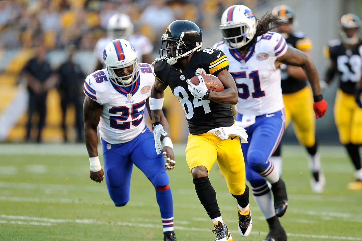 Antonio Brown S Legendary Career With The Buffalo Bills