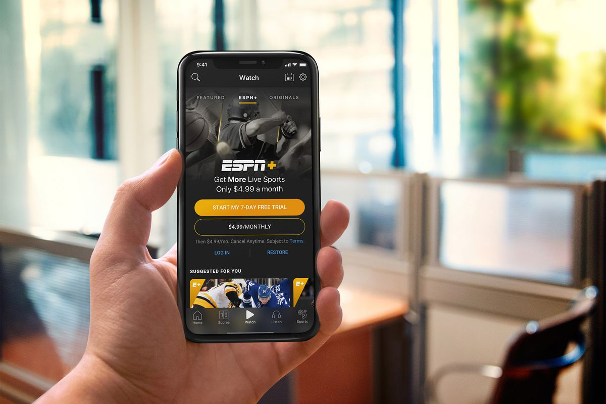 ESPN Plus streaming service now available via PS4, Xbox One - Polygon