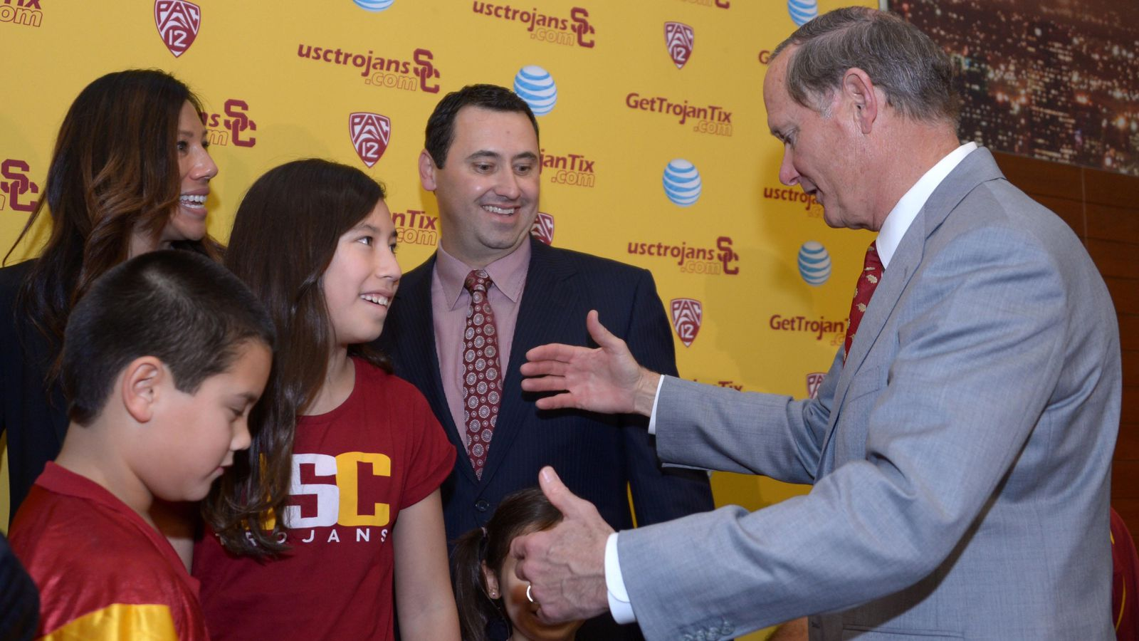 """USC AD Pat Haden: """"We Are Delighted To Welcome Steve ... Usc Football Team 2013"""