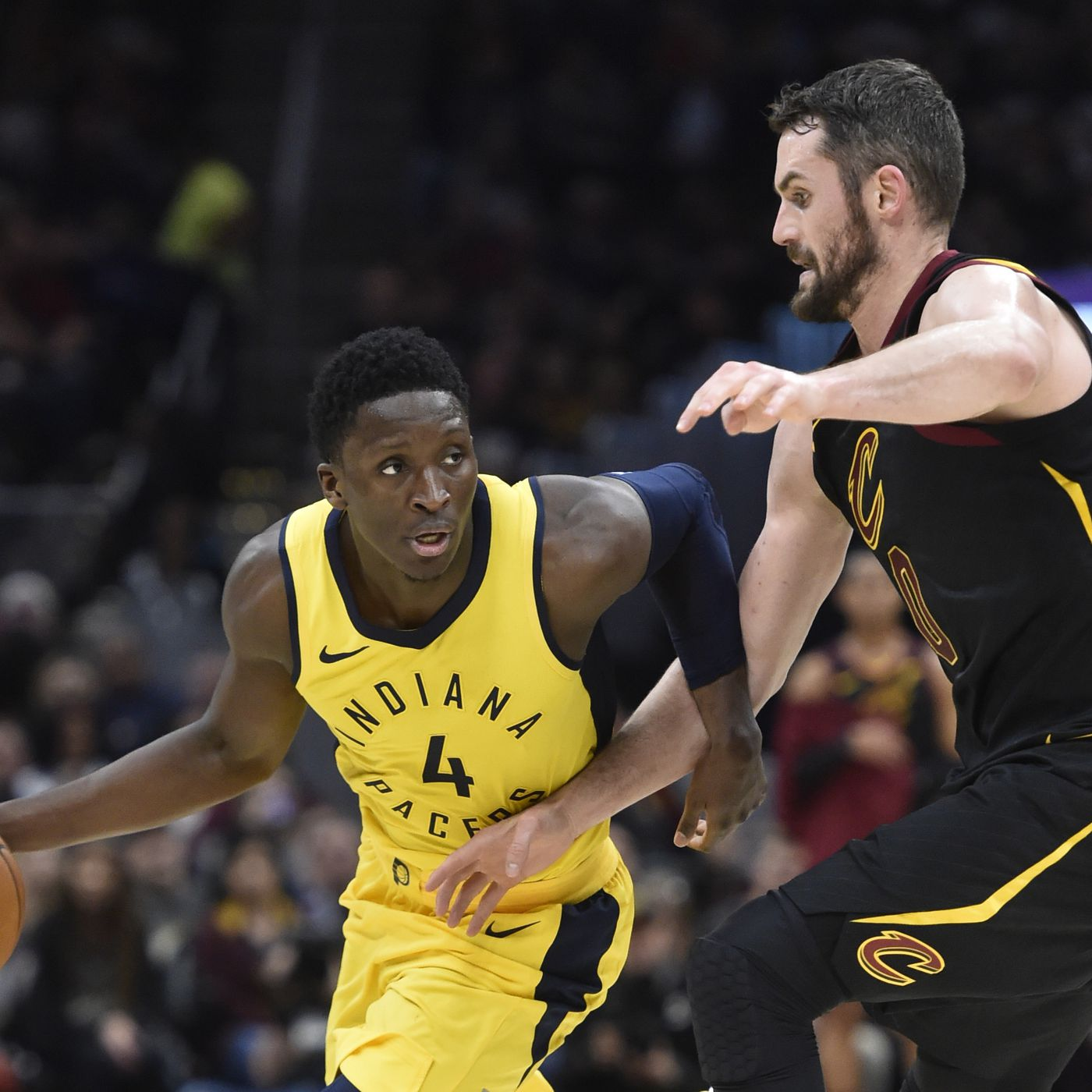 Pacers vs. Cavs 2018 results  Indiana stuns LeBron James with an 18-point  beatdown ac90aacaf