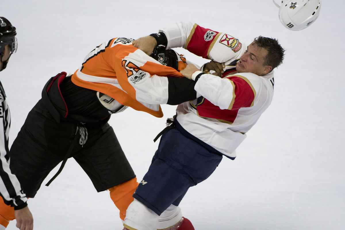 NHL: OCT 17 Panthers at Flyers