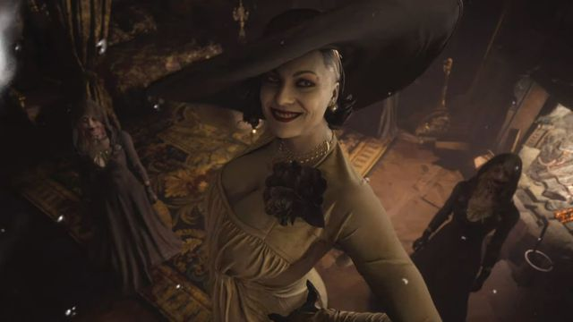 Resident Evil Village has a big vampire lady and fans love her