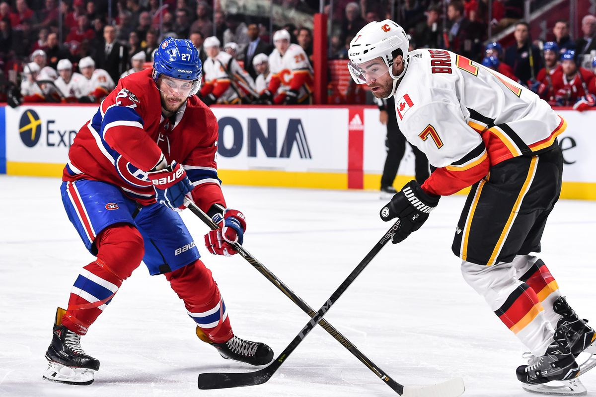 Report: Canadiens looking at top-four defencemen in trade talks