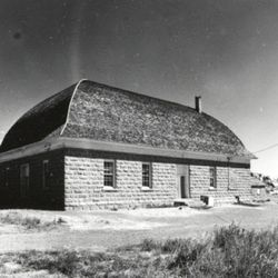 This structure in Teasdale, Wayne County, Utah, was built in 1910 and is still in use today.