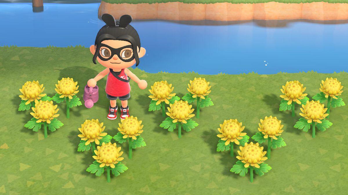 PURPLE WILDFLOWERS Animal Crossing New Horizons ACNH Hybrid Flower Bundle Packs