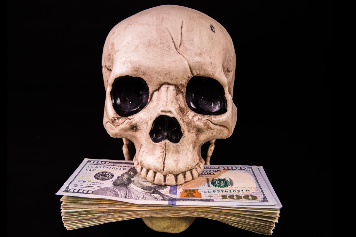 Get it, because it's rich and also a skeleton? You get it.
