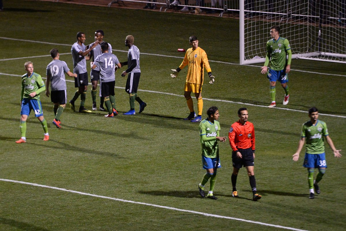 MLS: Mobile Mini Sun Cup-Portland Timbers at Seattle Sounders