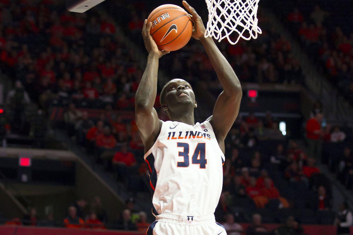 NCAA Basketball: UNLV at Illinois