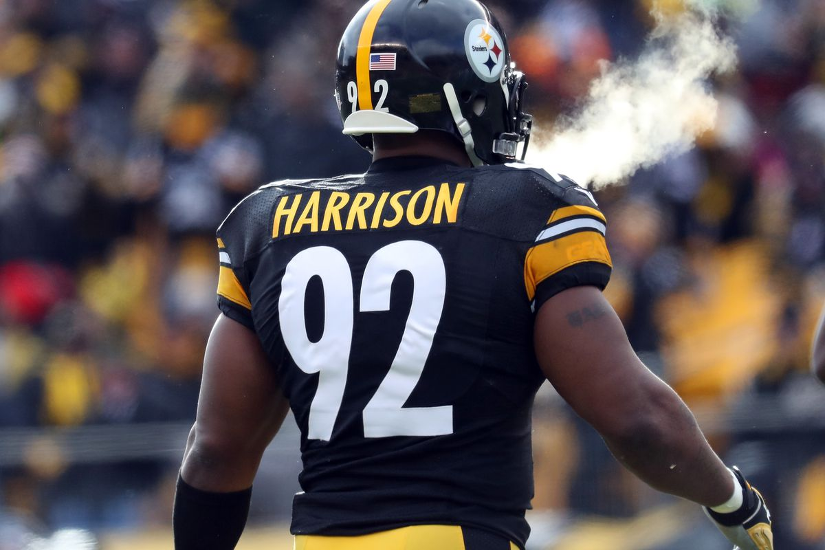 afae9543cf5 New Patriots linebacker James Harrison is getting publicly trashed by his  ex-Steelers teammates