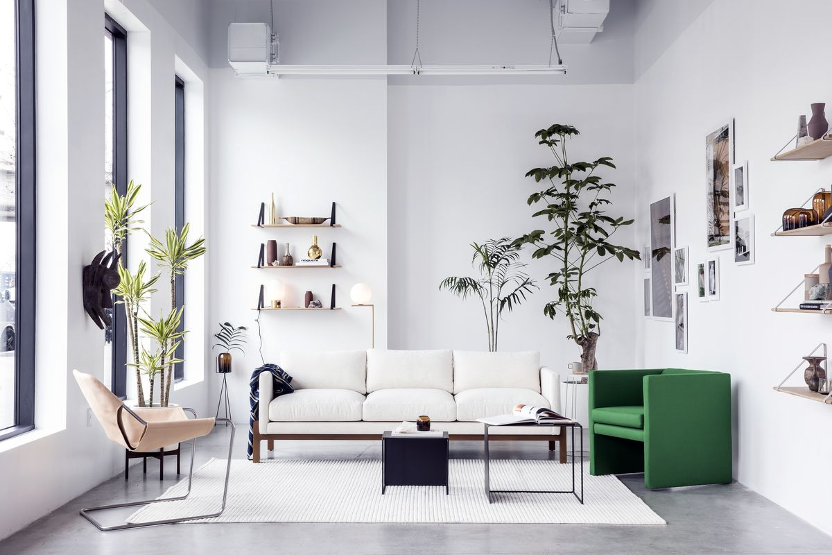 Trnk S La Pop Up Shop Showcases New Line Of Sofas Curbed