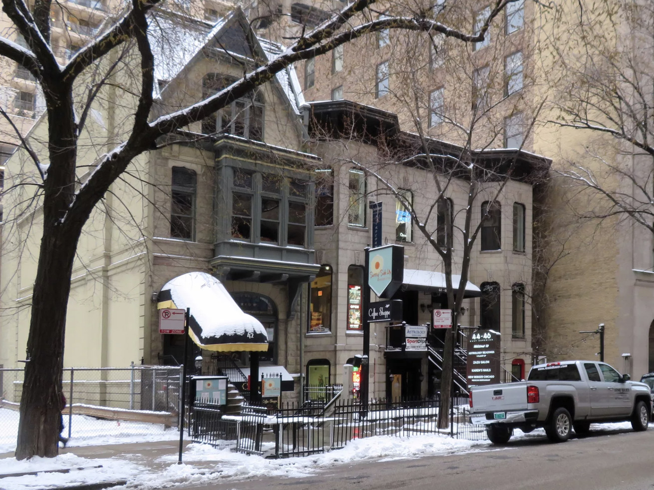 """The """"orange rated"""" buildings at 42-46 E. Superior Street have received another 90 day reprieve from demolition."""
