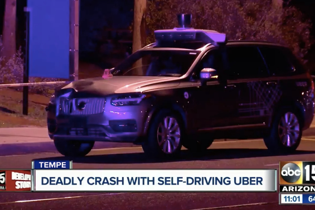A self-driving Uber killed a pedestrian  Human drivers will kill 16