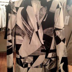 Printed blazer, $199