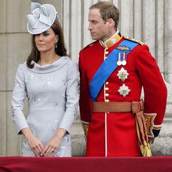 At England's annual Trooping The Colour ceremony on June 16th, 2012 in a custom Erdem dress.