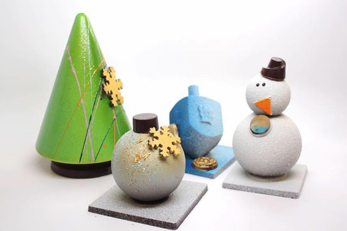 Snag your very own Carl The Chocolate Snowman in Plano.
