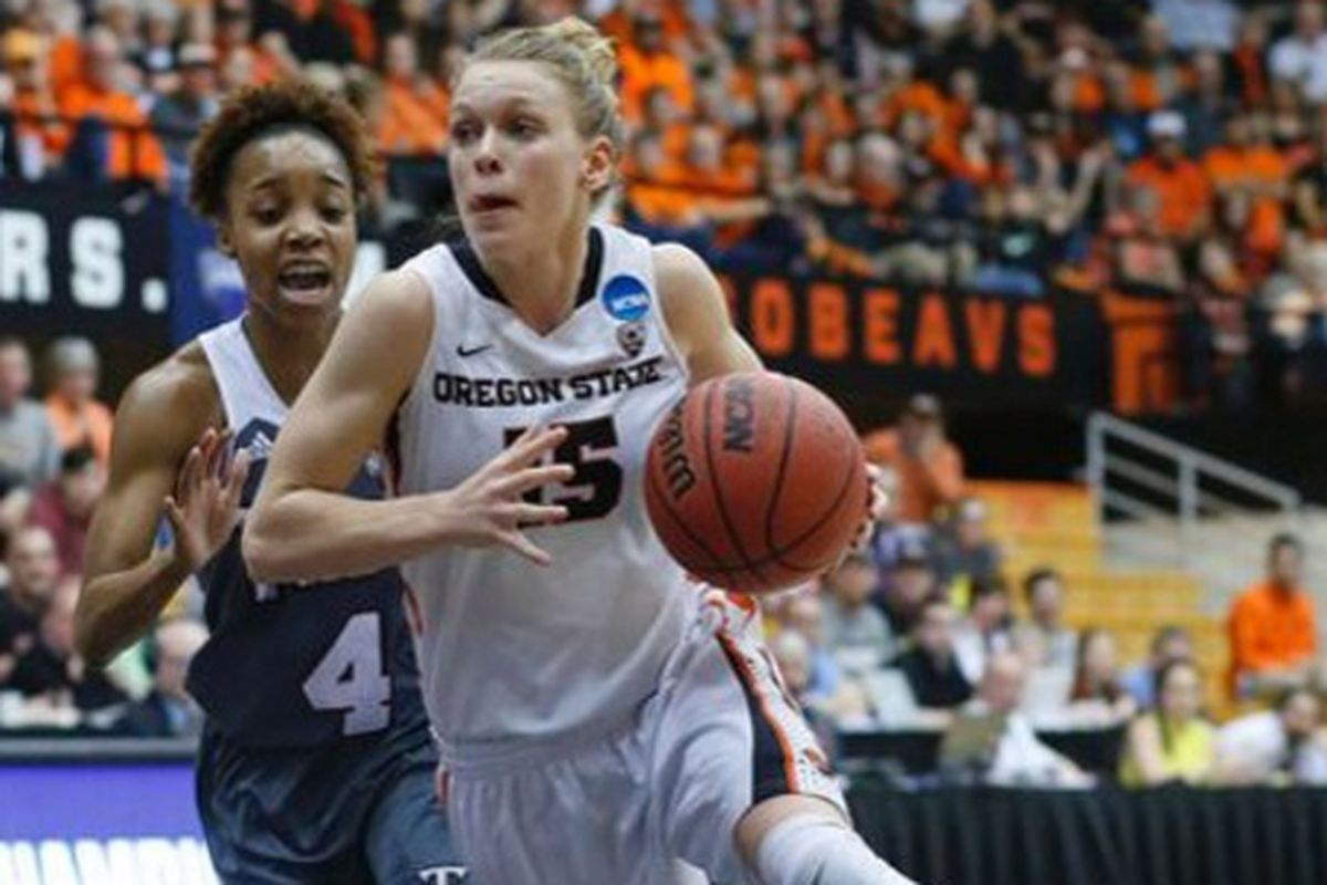 Jamie Weisner and the rest of the Oregon State Beavers hope to keep their unbeaten post-season rolling today.