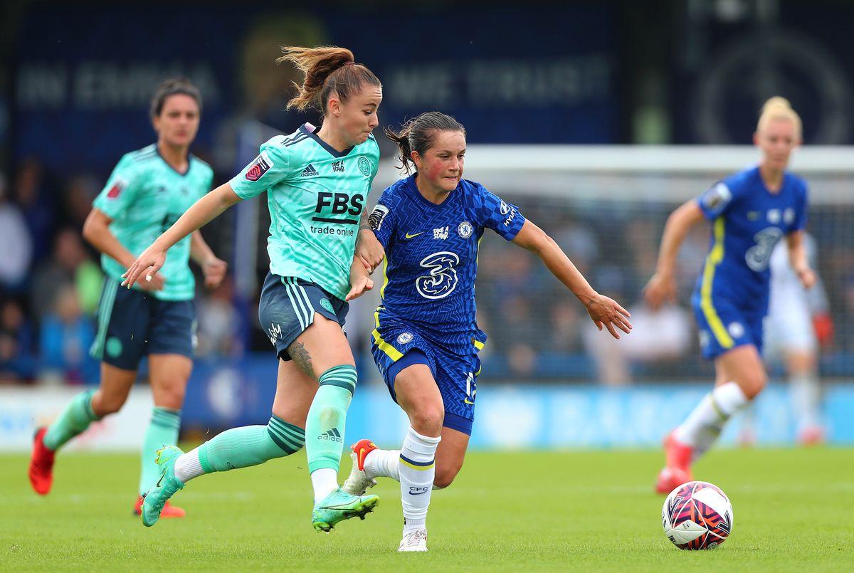 Chelsea Women v Leicester City Women - Barclays FA Women's Super League