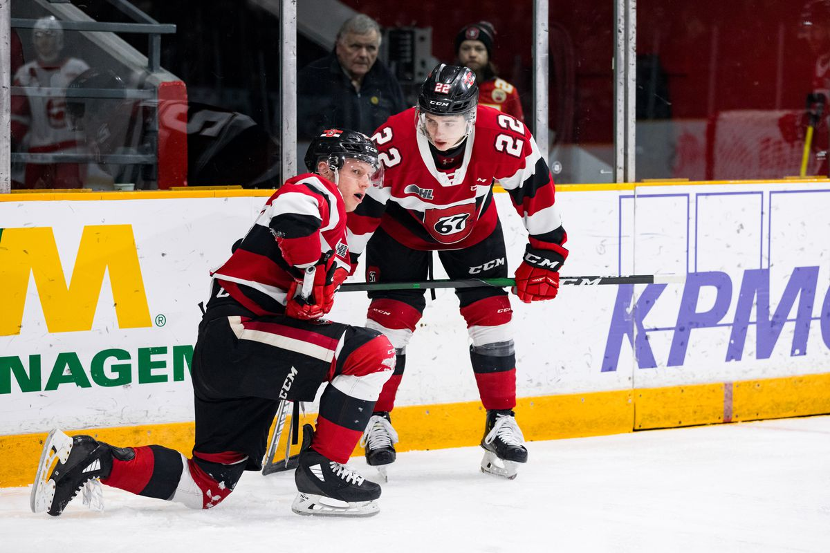 OHL: FEB 02 Sault Ste. Marie Greyhounds at Ottawa 67's