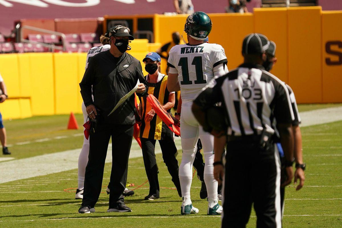 NFL: SEP 13 Eagles at Washington Football Team
