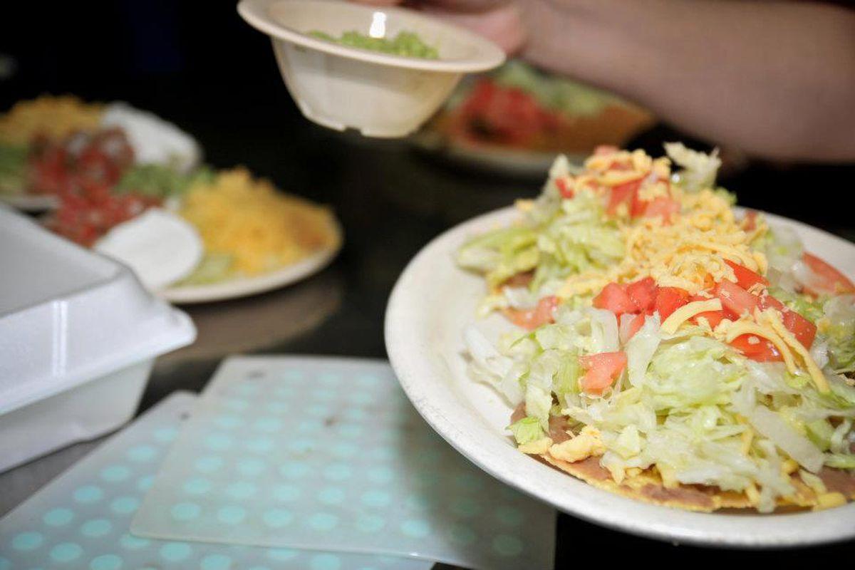 A dish from Enchiladas Y Mas