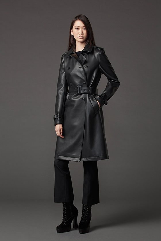 A look from the Uniqlo x Carine Roitfeld collaboration