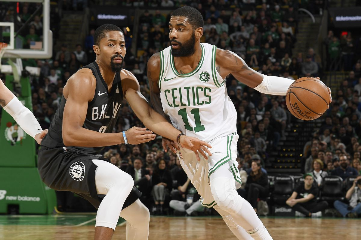 low cost c53ab 83b9b Spencer Dinwiddie: Kyrie Irving told me in December, 'New ...