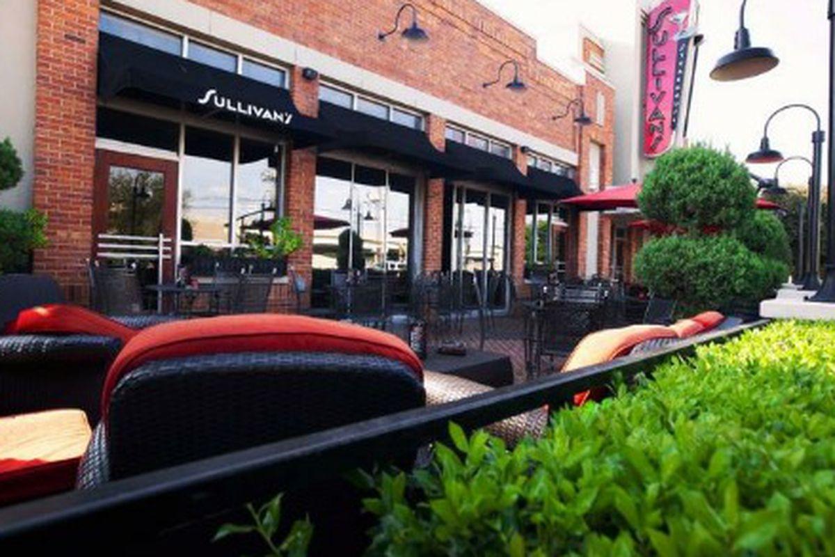 Exterior of Sullivan's Steakhouse in North Dallas.
