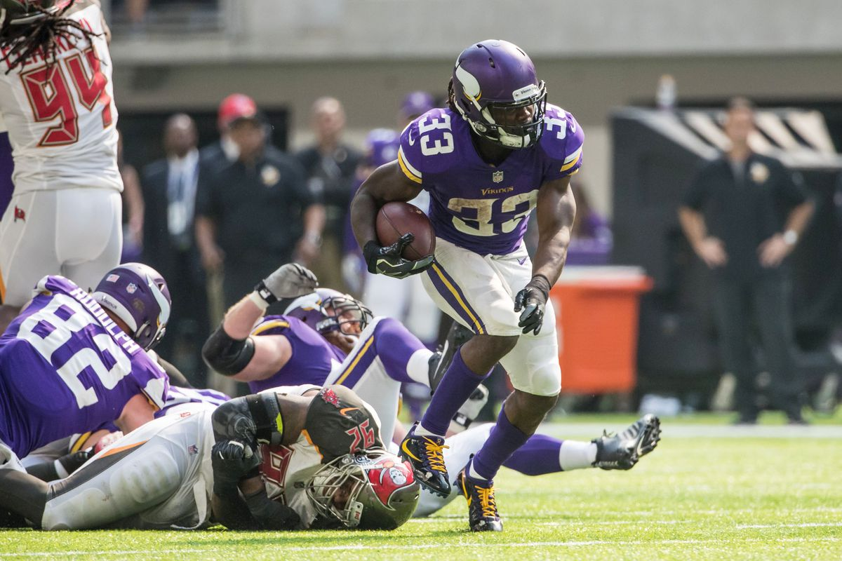 Lions Vs Vikings Dalvin Cook Goes To Locker Room With Non