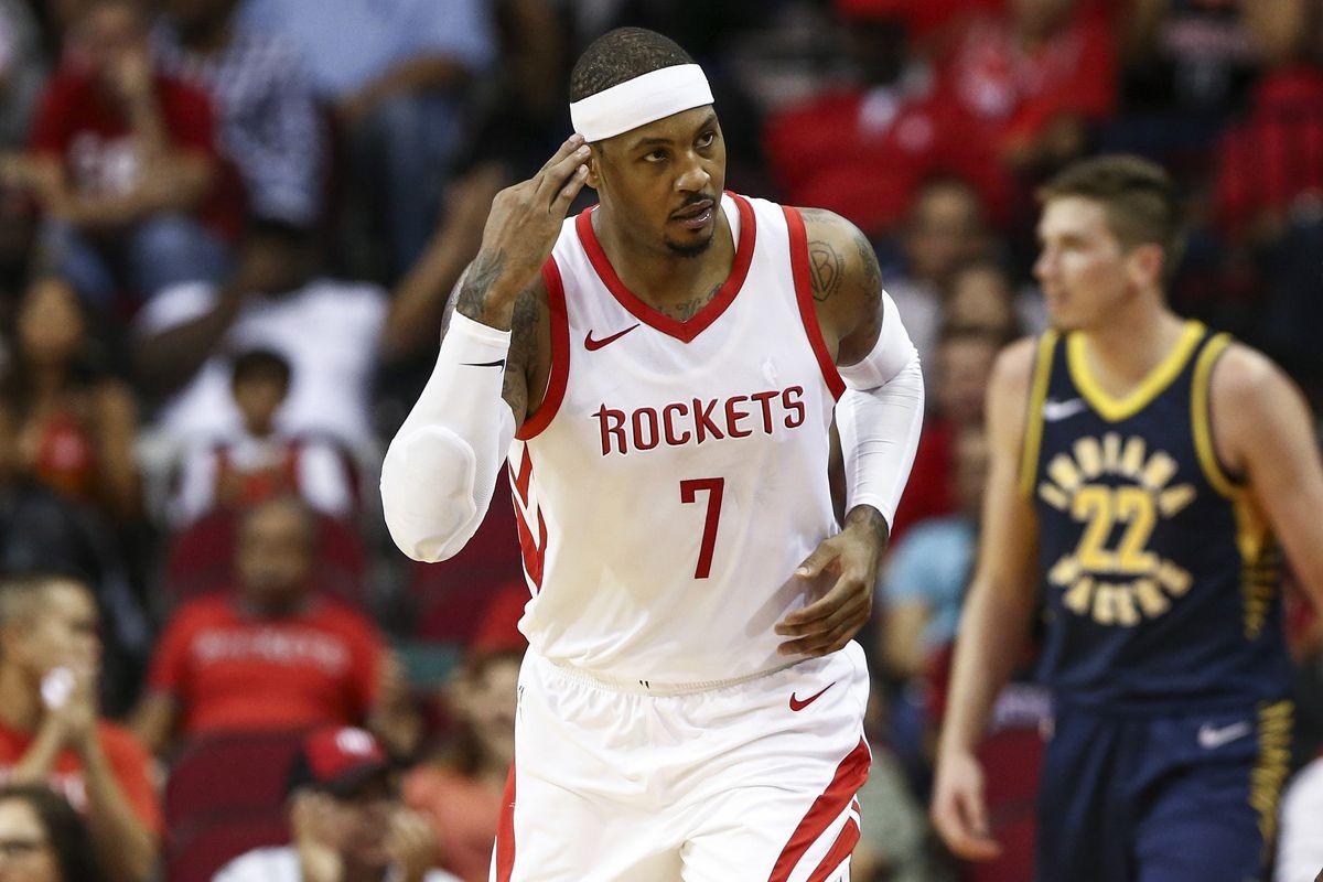 NBA: Preseason-Indiana Pacers at Houston Rockets