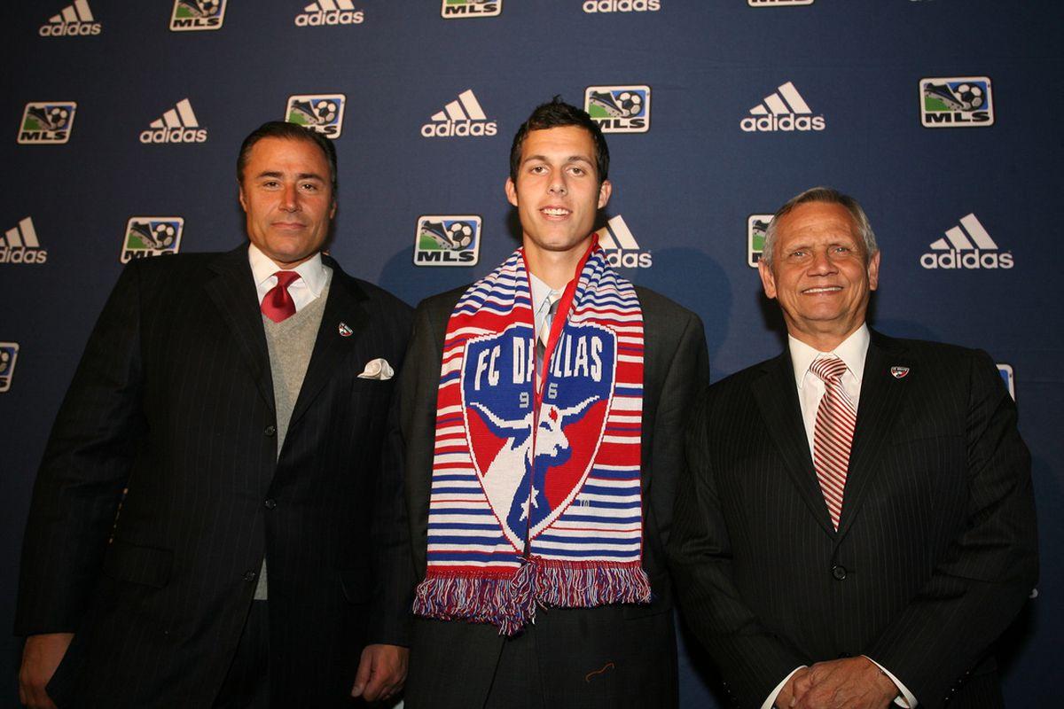 Doug Quinn, Matt Hedges, Schellas Hyndman (MLS)