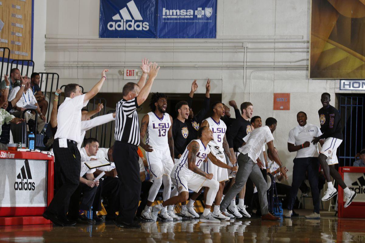 NCAA Basketball: Maui Invitational-Michigan at LSU