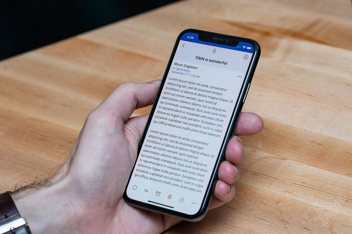 The best email app for iOS and Android - The Verge