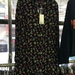 Printed dress, size M, $112 (was $380)