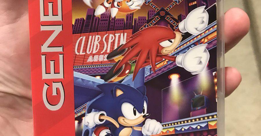 Drive By Wire >> Sonic Mania Plus has reversible Sega Genesis, Mega Drive ...