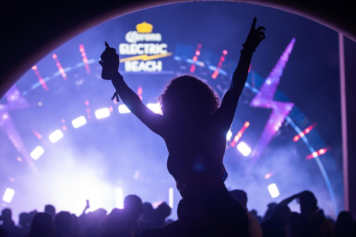 The party at Spring Awakening Musical Festival: Autumn Equinox hardly missed a beat Saturday after a delay due to severe weather.